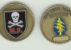 """Special Force Mike Force III CORPS Challenge Coin 1.53"""""""