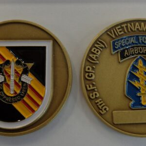 5th Special Forces Group (Vietnam) and Now Current Challenge Coin E
