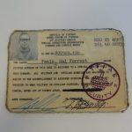 MSG. Hal Forrest Faulk Get of of Jail Free Card
