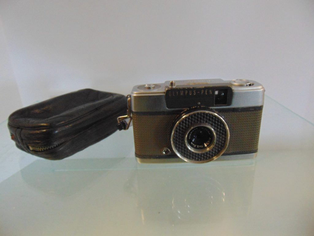 MSG. Hal Forrest Faulk Olympus Pen E Camera