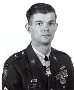 Fred Zabitosky - Congressional Medal of Honor Awardee