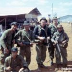Jim with his team, RT Auger, after a mission into Cambodia.