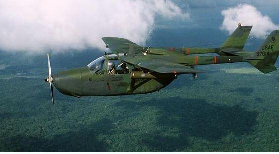 0-2B Skymaster FAC plane