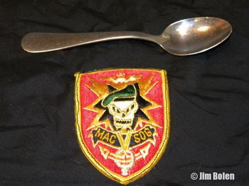 Jim's Lucky Spoon, with SOG Patch