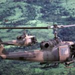 U.S. Air Force helicopters insert special operations teams into Cambodia. Communist supplies moved from the port of Kompong Som, through Cambodia, to South Vietnam along the Sihanouk Trail. Until 1969, this artery, named after then-Cambodian leader Prince Sihanouk, was left largely untouched by US forces (USAF photo)