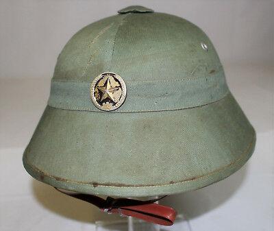 NVA Pith Helmet (Captured)
