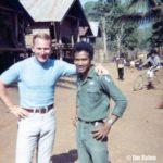 Jim with Nay Bunn.
