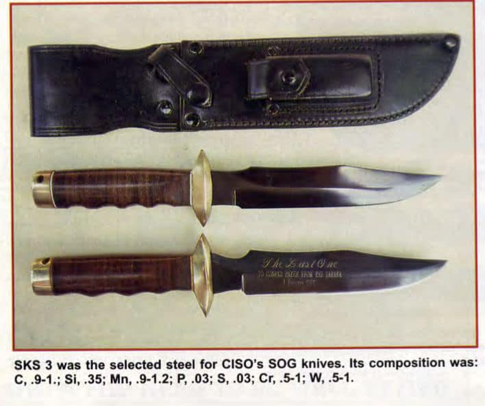 SOG's Knives and Edged Weapons