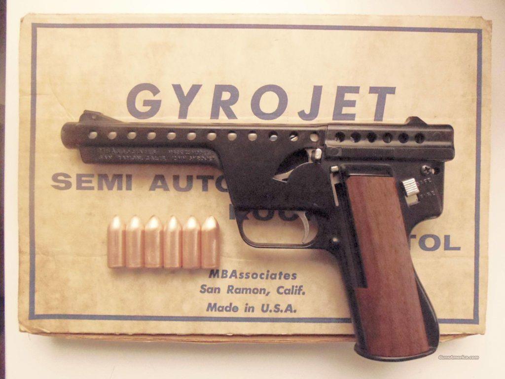 Gyroject Rocket Pistol