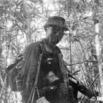 Jim on a SOG mission inside the Cambodian jungle.