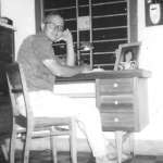 John A. Palmer SOG's Safe House 22 Lei Loi Street, Danang 1964.