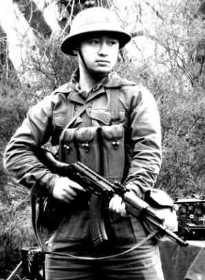 An NVA Soldier – A lot of intelligence could be gleaned from the condition of the soldier and his equipment