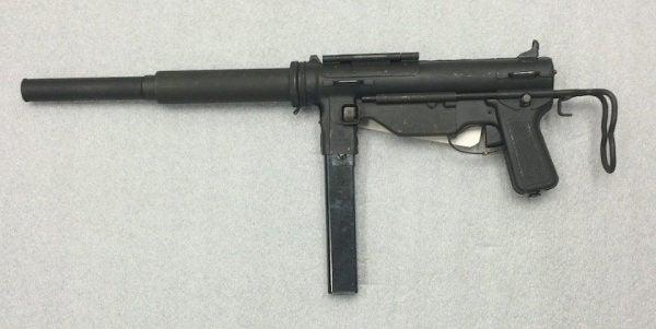 .45 caliber M-3 Silenced