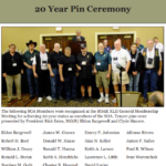SOAR 2018 20 Year Pin
