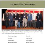 SOAR 2018 40 Year Pin