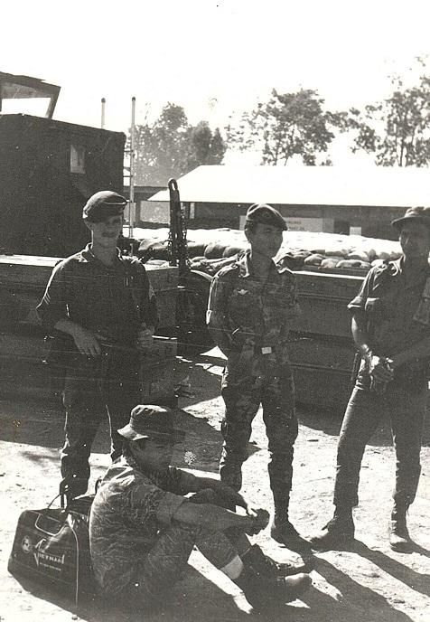 Cochran and Troop at Kontum 1969 Paul Christensen MACVSOG