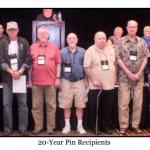 20 Year Pins
