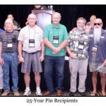 25 Year Pins
