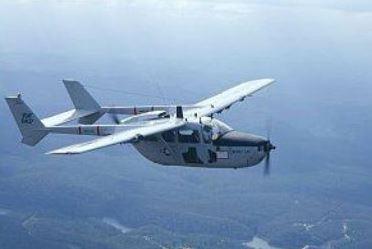 A Cessna 0-2 Skymaster Forward Air Controller.