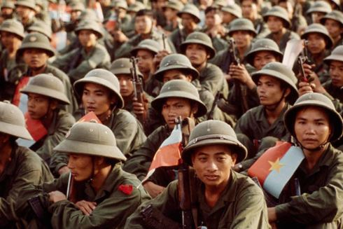 A Group of NVA Soldiers