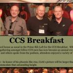 CCS Breakfast