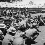 CCS RECON COMPANY RECEIVING BRIEFING - PHOTOS FURNISHED BY JIM DAY