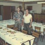 Captain John Robbins and Ron Kauffman