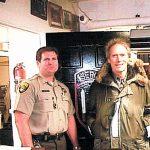 Bruce Christensen & Clint Eastwood