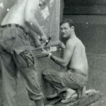 Couple of Sgts fixing their hooch at Fob-2. I used to remember their names. I do remember they weren't part of the Bull Shiter contingent.