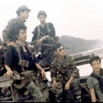 Unknown indigenous members of SOG at FOB4