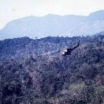 The 20th S.O.S Squadron (Real Heroes) – Green Hornets – arriving over the Cambodian jungle