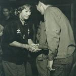 Maggie meets SCU Recon Team member in CCN club