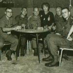 Maggie with CCN troops & Seabees