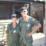 Picture of Ronald with Martha at A-322
