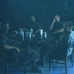 Picture of the club at FOB2. Don (Dave) Davidson and Mike Williams are in the photo which makes the date probable very late Oct 1968, just after Mike and Jimmy Marshall got back from looking for and finding NVA guns in Laos.