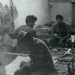 RT Delaware indig in their team room September 1968 getting ready for the mission to highway 110.