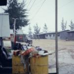 Rainy day at the FOB1