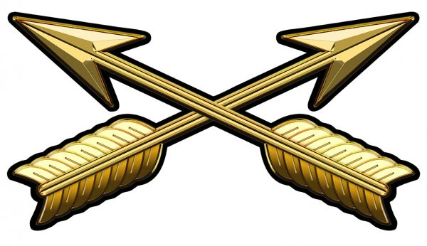 """Special Forces Branch Insignia Metal Sign 17 x 9"""""""