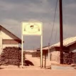 The main entrance to Recon Company, Command and Control North (CCN), MACV SOG. DaNang 1969