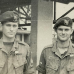 This first one is a picture of my Twin brother Jack Williams and myself taken at B-24 About August 1968. Jack had gone back to Dak Pek from Ben Het and was in to B-24 for the day.