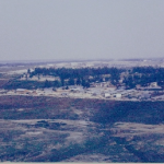 View of FOB 1 from Kingbee