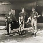 "AC-130 Gun Crew just before a mission, Ubon AB, Thailand, 72-73. L to R, Mike Caler, Billy ""Trailblazer"" Bush, Bruce Maine."