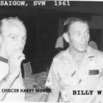 Billy Waugh and CIA Officer Harry Munck Saigon SVN 1961