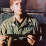 Doug Miller with Gyrojet Rocket Pistol