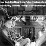 L to R Lynne Black, Rich Howard, John Peters, 1-0 John McGovern