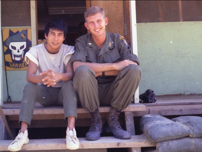 Larry Green and Hoang that appears to have been made in Isolation as we have no insignia