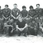 Leroy Sena 2nd from left, top row, Lt David Rapp & Lawson Manes of RT Rhode Island