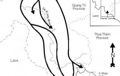 Map Dewey Canyon