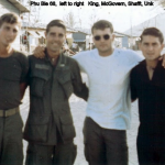 Phu Bia 1968 L to Right King, McGovern, Shafft, Unk
