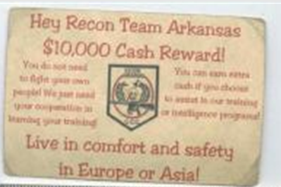 $10,000 CASH REWARD FOR RT ARKANSAS MEMBERS